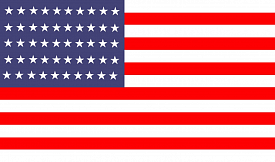 Ковер Creative Carpets флаг США flag of USA