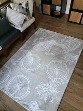 Ковер Creative Carpets - PRINT Creative BICYCLES
